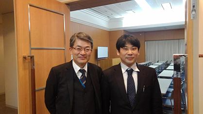 日本政策金融公庫の事業統括様と研修会にて